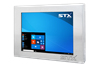 X7210-RT Industrial Panel PC - Fanless Computer For Harsh Environments with Resistive Touch Screen