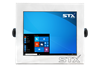 STX X7019-RT Harsh Environment Computer with Resistive Touch Screen