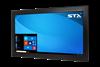 X4222-RT Industrial Panel Monitor - RT Screen - Matte Black Finish
