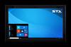 X7300-EX Industrial Panel Extender Monitor - Matte Black Finish