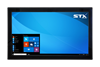 X7318-EX-RT Industrial Panel Extender Monitor - Matte Black Finish