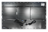 X4565 Industrial Panel Monitor - Rear View - Matte Black Finish