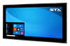 X4265-PT Industrial Large Format Touch Panel Monitor - PCAP Touch Screen - Matte Black Finish