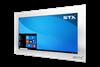 X7600 Industrial Panel PC - Brushed Aluminium Finish