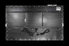 X7600 Industrial Panel PC - Rear View - Matte Black Finish