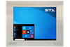 X5208-RT Industrial Touch Panel Monitor for Harsh Environments with Resistive Touch Screen