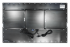 X7565 Industrial Panel Touch Extender Monitor - Rear View - Matte Black