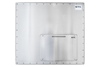 Industrial Monitor with waterproof keyboard - X7224-KB-Rear View