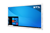 X7500 Fully Sealed Large Format Industrial PC - No-Touch Screen - Brushed Stainless Steel Finish