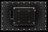 X7300 Industrial Panel Monitor - Aluminium Enclosure - Rear View